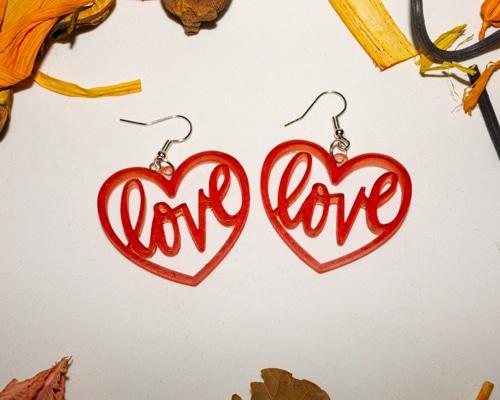 Pendientes Amor, varios modelos