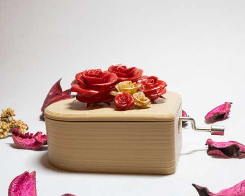 Caja musical amor personalizada2