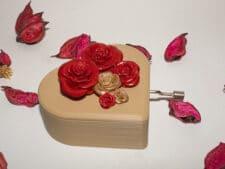 Caja musical amor personalizada