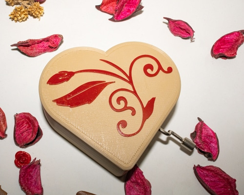 Caja musical amor personalizada4