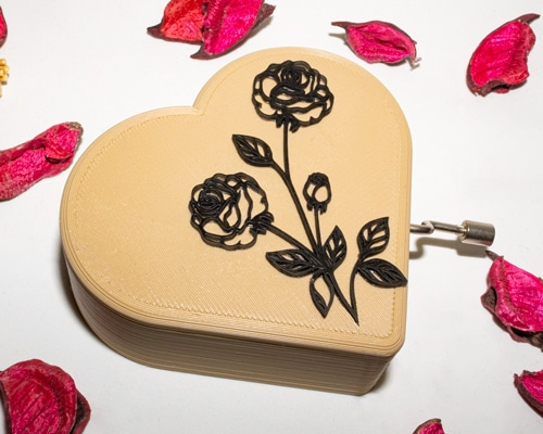 Caja musical amor personalizada3