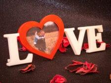 Marco de fotos LOVE